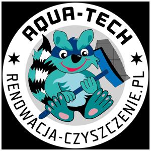 Logo AQUA-TECH - kontakt czyszczenie i pranie Trójmiasto, Gdynia, Sopot, Gdańsk, Rumia, Reda